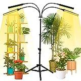 NaCot 【Upgrade】 96W Pflanzenlampe mit Ständer, 192...