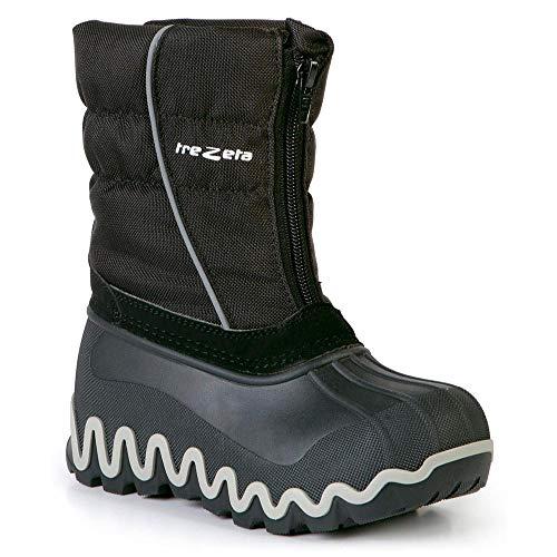 Trezeta, Chaussures Montantes pour Garçon Noir EU 33-34