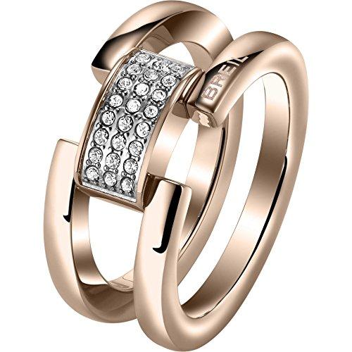 Breil Jewels Ring Gioielli Breilogy Anello #16 SS Ip Rose SWA Acciaio 16
