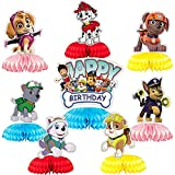 Paw Patrol Cake Topper, BESTZY Decoración Tarta De Niños, Patrulla de perros...