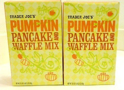 Trader Joe's Pumpkin Pancake and Waffle Mix (Pack of 4)