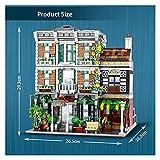 XXFFD 3648 PCS Creator Expert Street View House Garden Center Moc Moduler Blocks Blocks Bricks Model Toys Grand Emporium (Color : Garden Center)