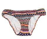 Victoria's Secret The Knockout Bikini Bottom Swim Multi Zig Zag Geo Size XS