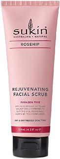 Sukin Rosehip Rejuvenating Facial Scrub, 125ml