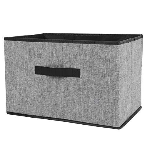 BOLORAMO Caja De Almacenamiento, Caja De Almacenamiento Plegable De 35L, Organizador De Almacenamiento De 38x26x25cm para Tienda, Suministros para El Hogar