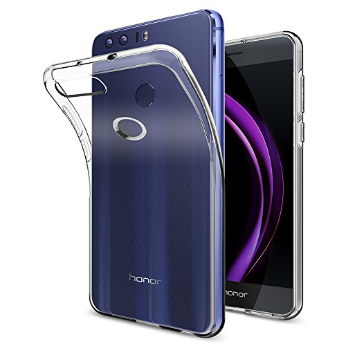 Spigen Liquid Crystal Designed for Huawei Honor 8 Case (2016) - Crystal Clear
