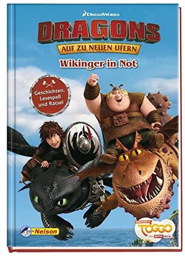 Dreamworks Dragons - Auf zu neuen Ufern: Wikinger in Not: Geschichten, Lesespaß und Rätsel