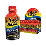 5-hour ENERGY Shot, Regular Strength, Berry, 1.93 Ounce, 12 Count