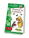 LKM-S24 CreativaMente, Libro Gioco, MINILUK Divertiti a Contare, Gioca con I Numeri
