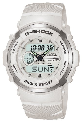 [カシオ] 腕時計 ジーショック G-300LV-7AJF ホワイト