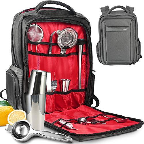 Travel Bartender Kit, Professional Waterproof 27-Piece Cocktail Shaker Set for Cocktail Making