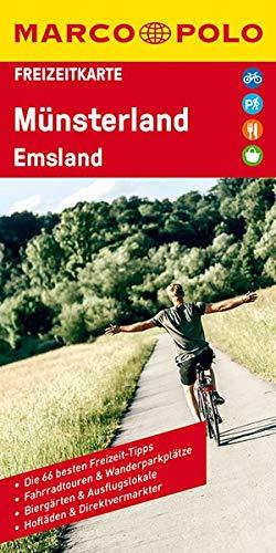 MARCO POLO Freizeitkarte Deutschland Blatt 12 Münsterland, Emsland 1:110 000