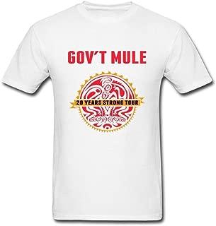SUNRAIN Men's Govt Mule Band T Shirt S