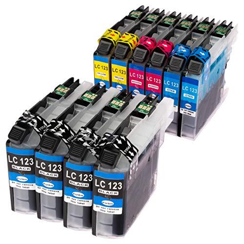 ESMOnline 10 komp. Druckerpatronen zu Brother MFC J245 J870DW J4410DW J4510DW J4610DW J470DW J4710DW J650DW J6520DW J6720DW J6920DW DCP J132W J152W J4110DW J552DW J752DW