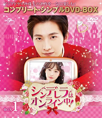 シンデレラはオンライン中! BOX1 (全2BOX) (コンプリート・シンプルDVD-BOX5,000円シリーズ) (期間限定生産)