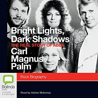 Bright Lights, Dark Shadows audiobook cover art