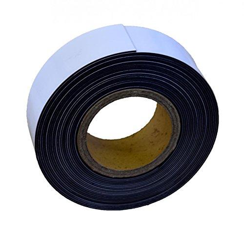 Magnetband zum Beschriften, wiederverwendbar, 5cm breit, 10m lang für Schwerlastregale, Industrieregale, Lagerregale, Palettenregale