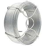 Amagabeli 1.3MM X 50M X 6PCS Filo Ferro Zincato Bobina di Filo di Ferro Zincato Cavo Metallico Rivestito di Zincato WR7