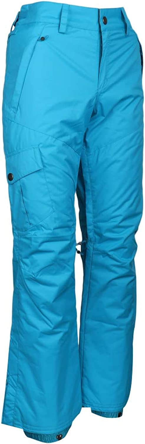 Dolity Women's Winter Mountain Snow Sports Insulated Ski Pants for Snowboarding, Skiing,Hiking,Fishing & Other Outdoor Activities