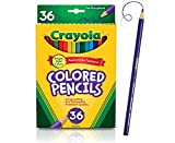 Crayola Colored Pencils Set, School Supplies, Presharpened, 36 Count