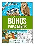 Búhos para niños: Libro para colorear para niños