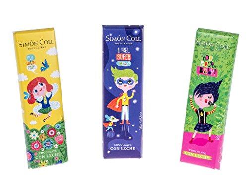 Simón Coll - Palitos de chocolate con leche para niños