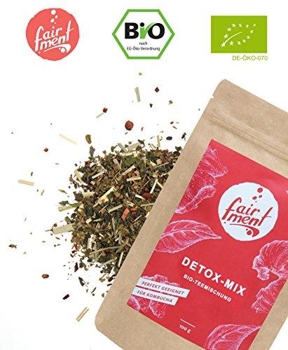 Premium Bio Teemischungen von Fairment®, für Kombucha geeignet, 100g (Fasten-Mix)