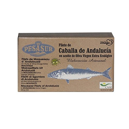 Caballa de Andalucía PESASUR en Aceite de Oliva Virgen Extr