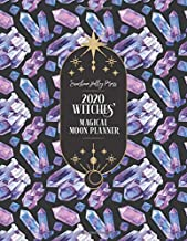 Sunshine Holly Press 2020 Witches' Magical Moon Planner: Monthly and Weekly Calendar Organizer | January 1, 2020 - December 31, 2020 | Large, 8.5 x 11 ... | Wheel of the Year Dates (Colorful Crystals)