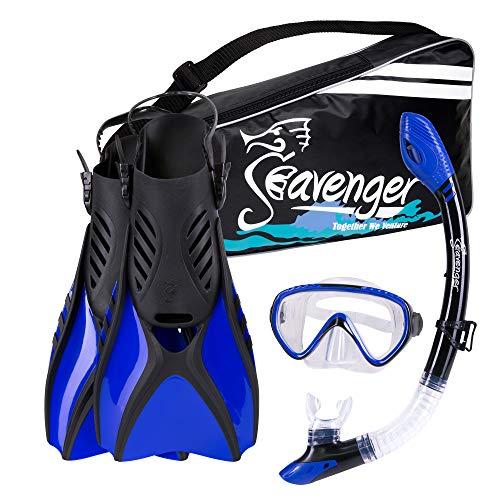 Seavenger Advanced Snorkeling Set with Panoramic...