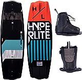 Hyperlite State 2.0 Mens Wakeboard 140 W//Remix Bindings Black/Teal (10-14)