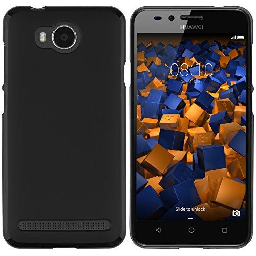 mumbi Hülle kompatibel mit Huawei Y3 II Handy Hülle Handyhülle, schwarz