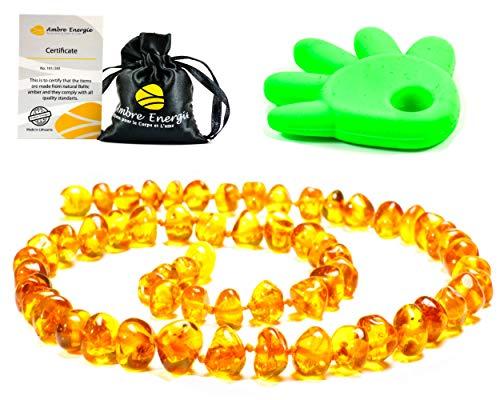 AmberJewellery Collar de Ambar 33cm. - De la Máxima Calidad