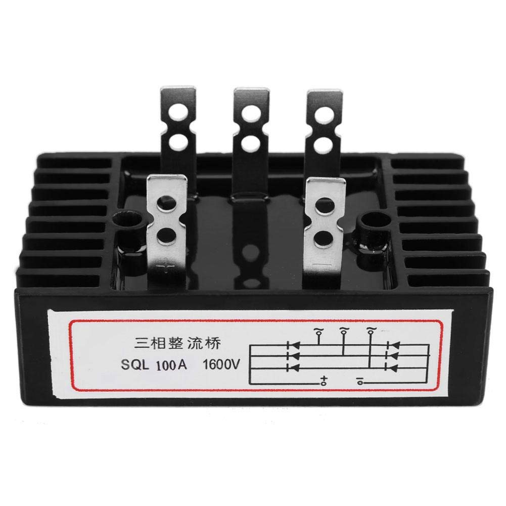Keenso Lowest price challenge Three Phase Diode Bridge Rectifier AC to Ranking TOP10 SQL100A 1600 DC