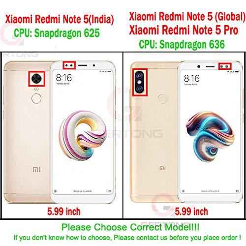 PANGLDT [3 Paquetes] Cristal Templado de Cubierta Completa para Xiaomi Mi A1 Redmi Note 5 Pro Note 4 4X 5A Prime Redmi 5 Plus 4X 5A 5 Pro Protector de Pantalla Nota 4 (MTK X20)_Black