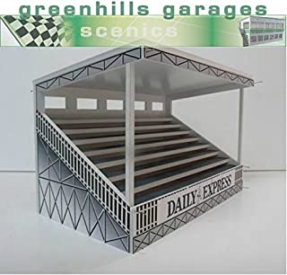 Greenhills Scalextric Slot Car Building Kit Silverstone Woodcote Grandstand 1:32 Scale MACC401