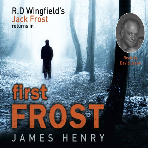 First Frost audiobook cover art