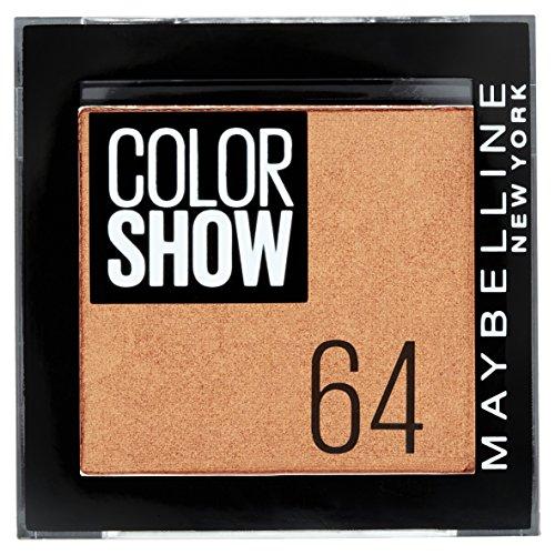Maybelline New York Colorshow Fard à Paupières 64 One Cent Copper