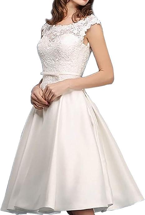 Brautkleid kurz schlicht