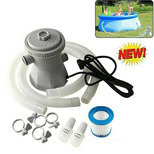 yangGradel 300GAL Electric Swimming Pool Filter Pump for Above Ground Pools Cleaning Tool,Easy to Install and Clean