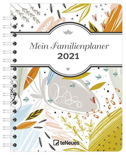 Mein Familienplaner Colour 2021 - Diary - Buchkalender - Taschenkalender - 17,5x23,1: Diary