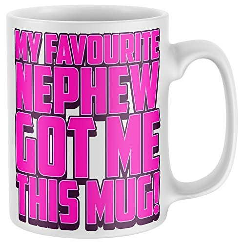 Purple Print House Womens My Favourite Nephew Got Me This Mug - Funny...