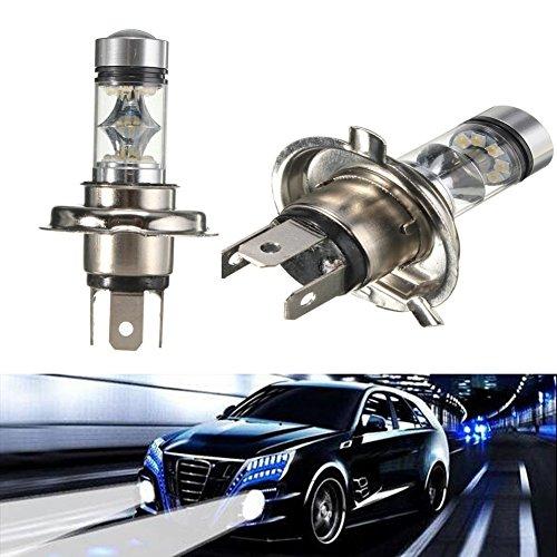 katur 100 W 2 x H4 20SMD XBD LED brouillard conduite DRL Ampoule Lampe DC 12 V 6000 K