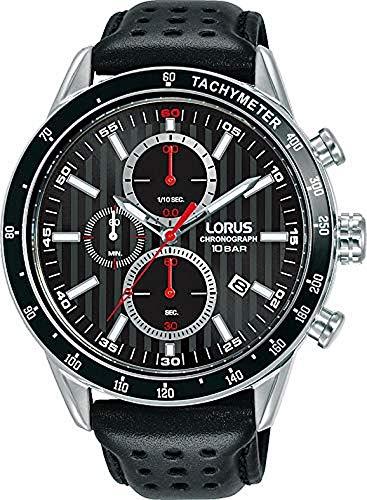 Lorus Reloj Analógico para Hombre de Cuarzo con Correa en Piel RM335GX9
