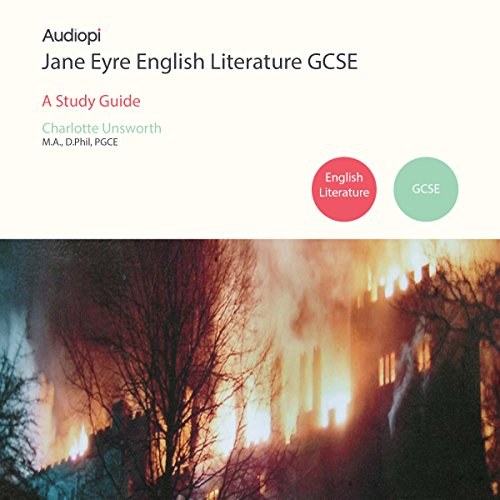 Jane Eyre GCSE English Literature audiobook cover art