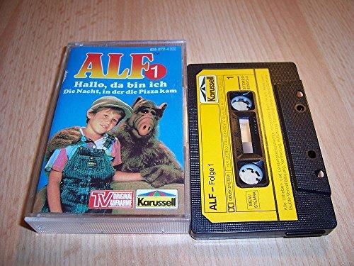 ALF Nr. 1 - Hallo, da bin ich + Die Nacht, in der die Pizza kam Original Hörspiel zur TV-Serie [Musikkassette] [Musikkassette]