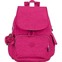 in budget affordable Women's Backpack Kipling City Pack, Berry Berry