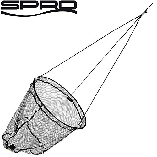 Spro Freestyle Drop Net Xtra 80 / Spundwandkescher mit gummiertem Netz