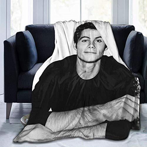 Divanorn Warme Decke Dylan O 'Brien Anti-Pilling Flanell Sofa Decke Geeignet für alle Jahreszeiten 80' x 60 '