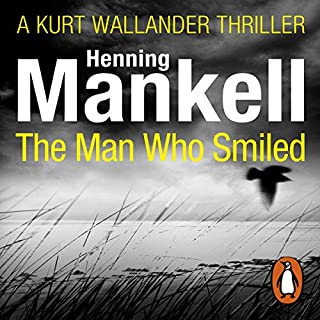 The Man Who Smiled audiobook cover art